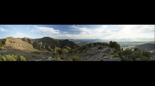 Backside of Snow King Mountain