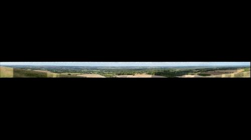 View from Combe Gibbet 2013