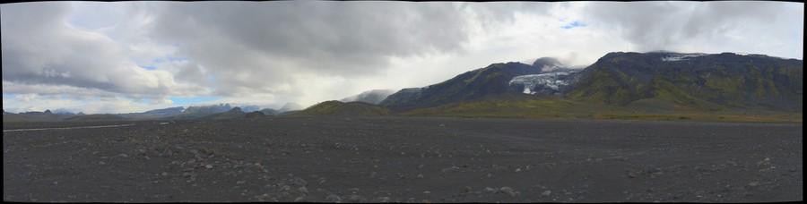 North of Eyjafjallajökull