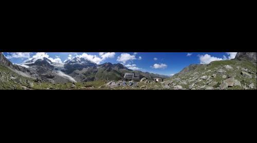 Turtmann Huette Panorama