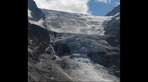 Turtmann Glacier