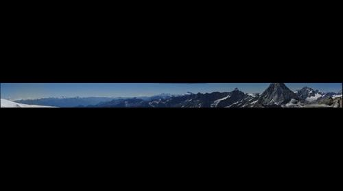 Kleiner Matterhorn Panorama