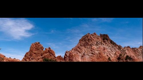 Climbers at the Garden of the Gods
