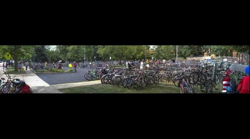 Bike Lot - Tour de Fat - 8/31/13 @ 13:58 MST