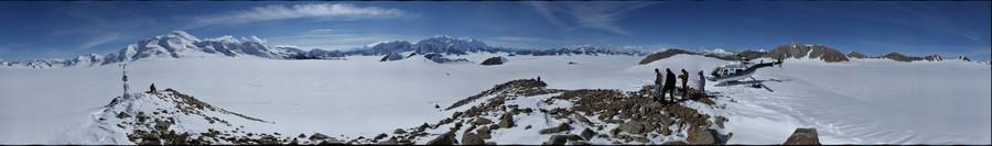 View towards Mt Logan, Yukon