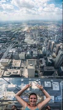 Chicago Willis Tower Sky Deck