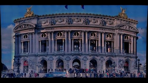 Opera building Paris