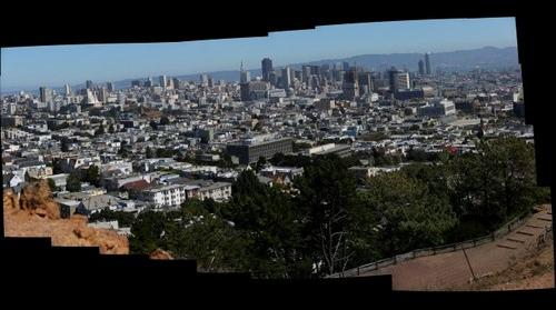 Downtown from Corona Heights