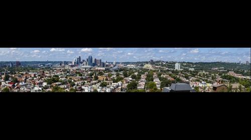 Cincinnati, Ohio Skyline - WEBN RiverFest Sunday, September 1, 2013