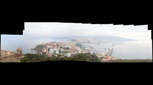 Ceuta desde el Hacho (43 imágenes - 682 mgpx)