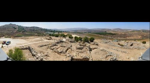 Location of ancient Jewish temple at Shiloh