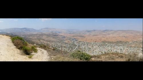 Overlooking Ramallah