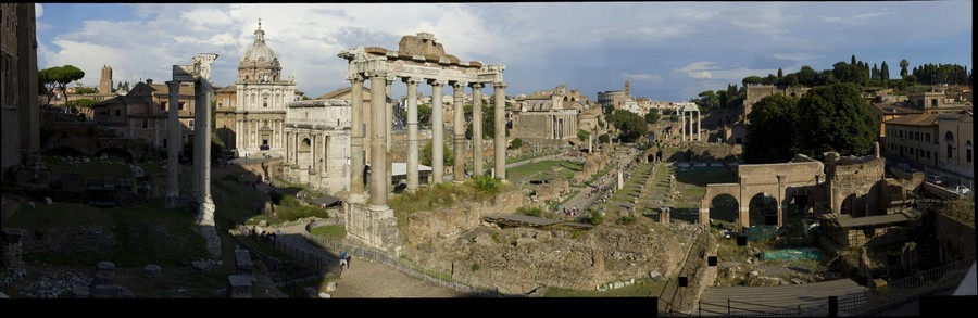 Rome - Fori Imperiali, Roman Forum, Forum Romanum - Ancient centre of Rome