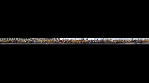 Tram 760 primers metres sud