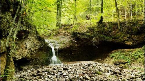 Waterfall on Kuvaszo creek