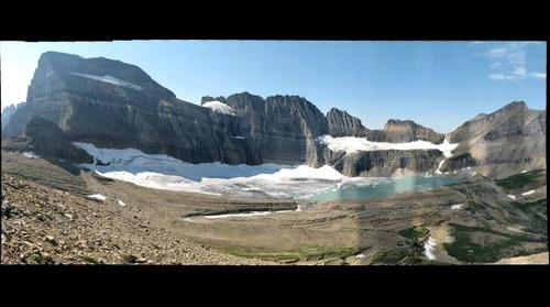 Grinnell Glacier from Angel Wing