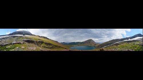 Gyrfalcon Lake, Glacier National Park, MT