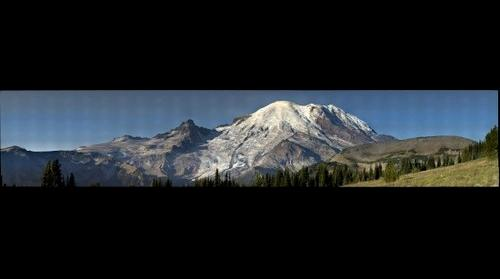 Mt Rainier from Sunrise.