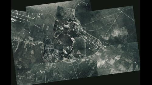 Vue aérienne Bagnoles de l'Orne en Normandie de 1927 !