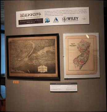 Hoboken Historical Museum - Mapping the Territory: Hudson County in Maps, 1840-2013, Jan. - Sept. 2013, Entry section: Introductory Maps & Credits