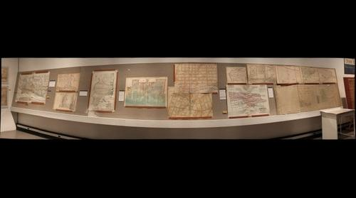 Hoboken Historical Museum - Mapping the Territory: Hudson County in Maps, 1840-2013, Jan. - Sept. 2013, Sections 2-1 & 2-2