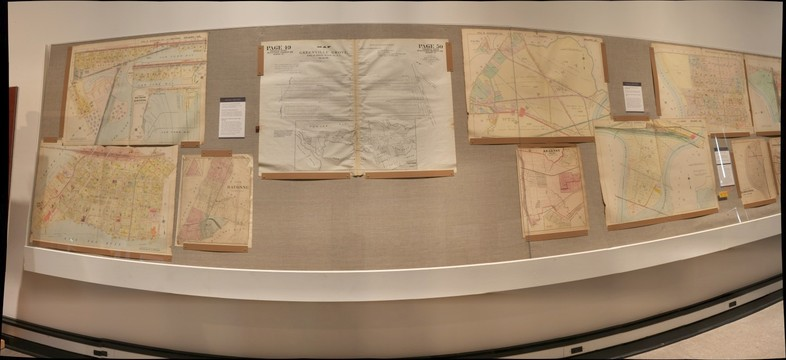 Hoboken Historical Museum - Mapping the Territory: Hudson County in Maps, 1840-2013, Jan. - Sept. 2013, Section 3-1