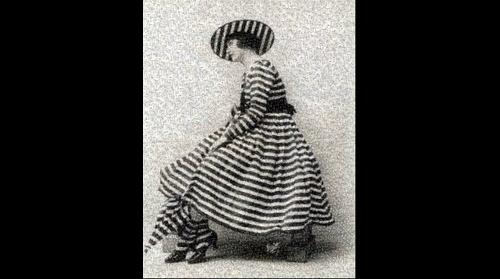 Vintage Verve - Woman In Stripes