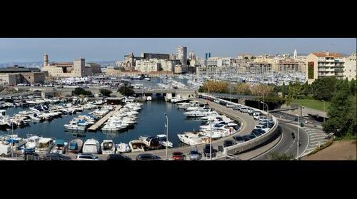Marseille le vieux port.