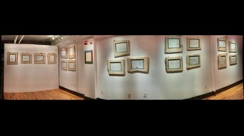 Hoboken Historical Museum, Upper Gallery - Spontaneous Hoboken: Ink Drawings by John Cheney; Aug. 25 to Sept. 29, 2013