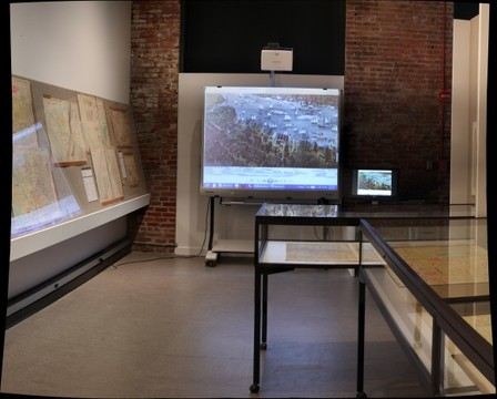 Hoboken Historical Museum - Mapping the Territory: Hudson County in Maps, 1840-2013, Jan. - Sept. 2013, final section
