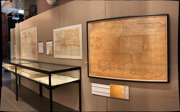 Hoboken Historical Museum - Mapping the Territory: Hudson County in Maps, 1840-2013, Jan. - Sept. 2013, Section 4-2