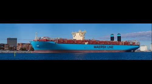 Majestic Maersk - the worlds largest container ship