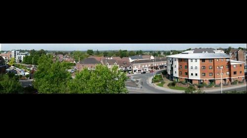 Horsham, West Sussex, Panorama