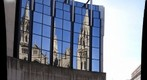 St. Paul&#39;s Cathedral refected in SEI windows