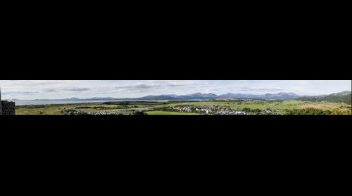 View from Harlech Castle, Wales