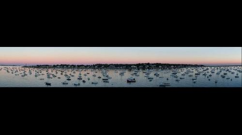 Marblehead Harbor Panorama