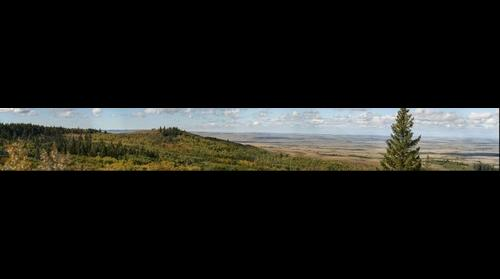 Cypress Hills Lookout Point - Saskatchewan Canada