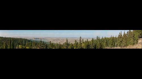 Horseshoe Canyon Cypress Hills Alberta Canada