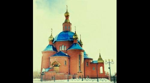 Dubovoe church, Belgorod, Russia