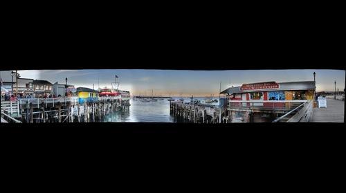 Fisherman's Wharf - Monterey Harbor