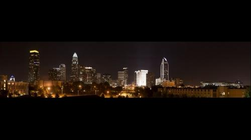 Charlotte from the Northwest (5.7 Gigapixels)