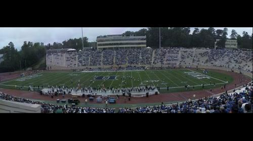 Duke vs Navy - Navy Kickoff