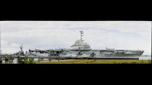 USS Yorktown by Peter Bregg
