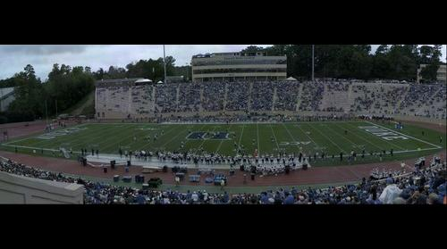 Duke vs Navy - Navy QB takes out the ref