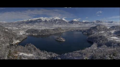 Bled during winter