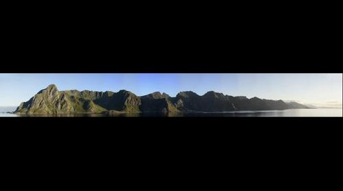 Lofoten - Norwegian islands sunrise