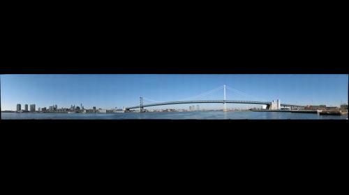 Ben Franklin Bridge, Philadelphia, Pa.