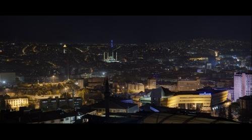 Ankara Kalesinden Çankaya