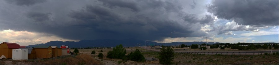 Colorado Springs, Storm