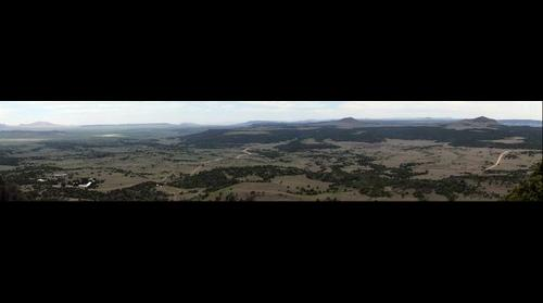 View from Capulin Volcano National Monument